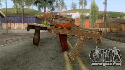 Playerunknown Battleground - OTs-14 Groza v5 für GTA San Andreas