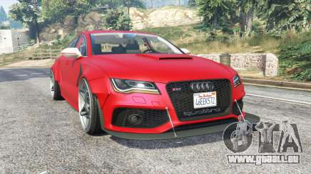 Audi RS 7 Sportback X-UK v1.1 [replace] für GTA 5