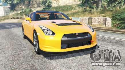 Nissan GT-R (R35) v1.1 [replace] pour GTA 5