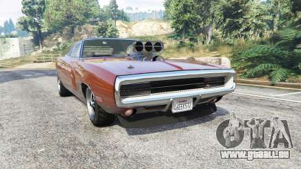 Dodge Charger RT (XS29) 1970 v4.0 [replace] für GTA 5