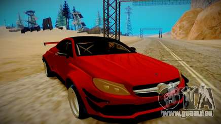 Mercedes Benz C63 S Coupe für GTA San Andreas
