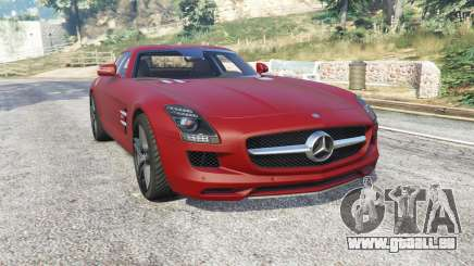 Mercedes-Benz SLS 63 AMG (C197) v1.3 [replace] pour GTA 5
