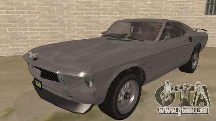 GTA V Vapid Dominator Classic für GTA San Andreas
