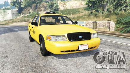 Ford Crown Victoria NYC Taxi [replace] pour GTA 5