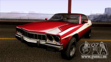 GTA V Declasse Sabre GT3 Starsky & Hutch für GTA San Andreas