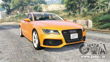 Audi RS 7 Sportback v1.1 [replace] für GTA 5