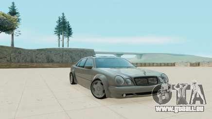Mercedes-Benz E55 W210 für GTA San Andreas