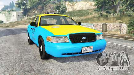 Ford Crown Victoria 2008 Taxi v1.2b [replace] pour GTA 5