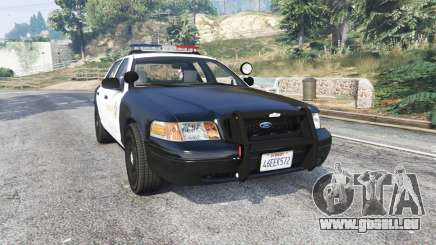 Ford Crown Victoria LSSD [ELS] [replace] für GTA 5