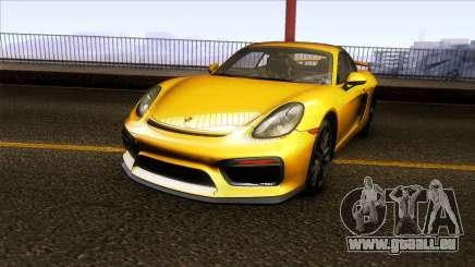 Porsche Cayman GT4 981C 2016 für GTA San Andreas