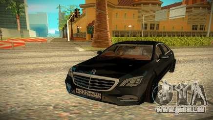 Mersedes-Benz W222 2018 pour GTA San Andreas