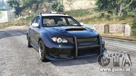 Subaru Impreza WRX STi LAPD v1.1 [replace] für GTA 5