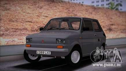 Fiat 126 Stock für GTA San Andreas