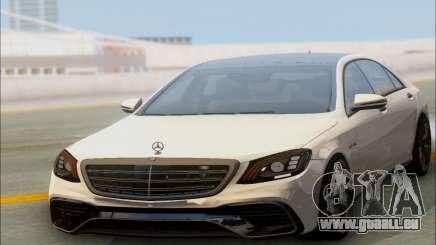 Mercedes-Benz S-class W222 2018 pour GTA San Andreas