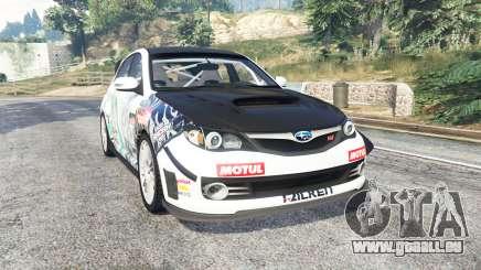 Subaru Impreza WRX STI Nakazato v1.2 [replace] pour GTA 5