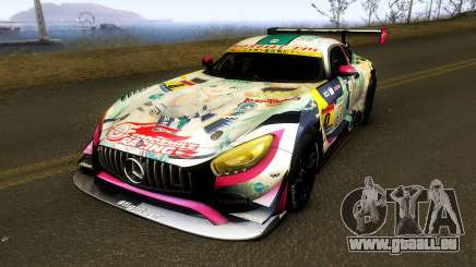 Mercedes Benz AMG GT3 Goodsmile Racing 2018 pour GTA San Andreas