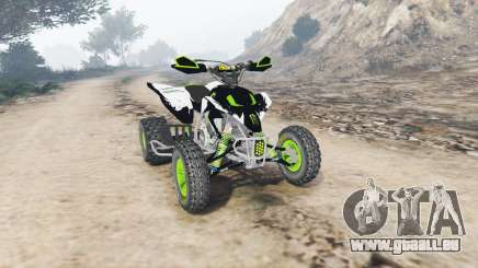 Yamaha YFZ450 Monster Energy v1.1 [replace] pour GTA 5