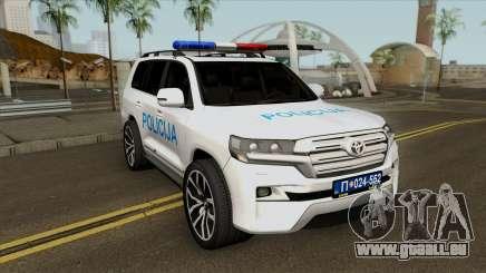 Toyota Land Cruiser 200 Interventna Jedinica 92 pour GTA San Andreas