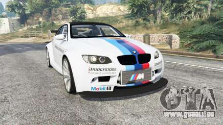 BMW M3 (E92) WideBody BMW Driving v1.2 [replace] pour GTA 5