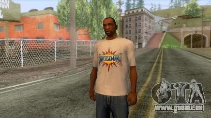 Wrestlemania 33 T-Shirt für GTA San Andreas