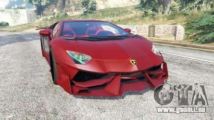 Lamborghini Aventador LP988-4 v3.1 [replace] pour GTA 5
