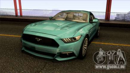 Ford Mustang GT 2015 für GTA San Andreas