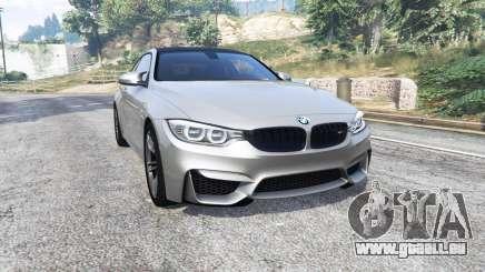 BMW M4 (F82) 2015 [replace] pour GTA 5