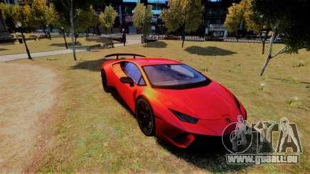 Lamborghini Huracan Performante pour GTA 4
