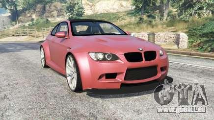 BMW M3 (E92) WideBody v1.2 [replace] für GTA 5