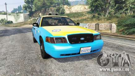 Ford Crown Victoria Undercover Police [replace] für GTA 5
