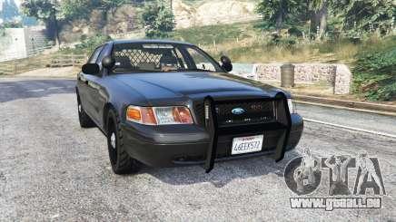 Ford Crown Victoria FBI v3.0 [replace] für GTA 5