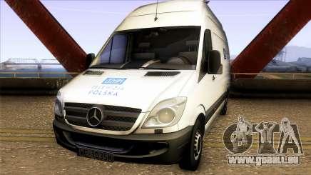 Mercedes-Benz Sprinter 311CDi - TVP für GTA San Andreas