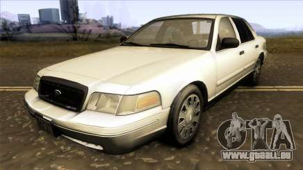 Ford Crown Victoria Unmarked 2009 pour GTA San Andreas