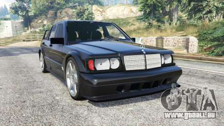 Mercedes-Benz 190 E Evolution II v1.2 [replace] pour GTA 5