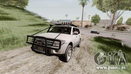 Mitsubishi Pajero v1.3 pour GTA San Andreas