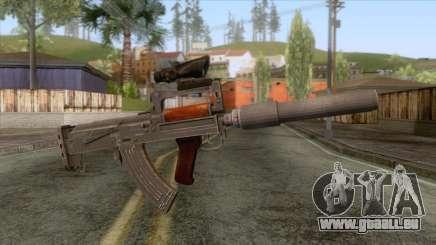 Playerunknown Battleground - OTs-14 Groza v6 für GTA San Andreas