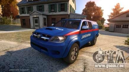 Toyota Hilux Jandarma Olay Yeri Inceleme pour GTA 4