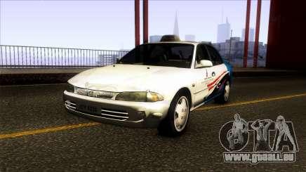 Proton Wira Terengganu City Taxi pour GTA San Andreas
