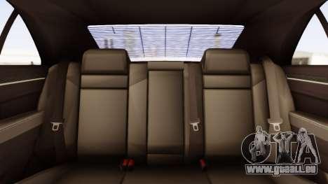Chrysler 300C pour GTA San Andreas vue intérieure