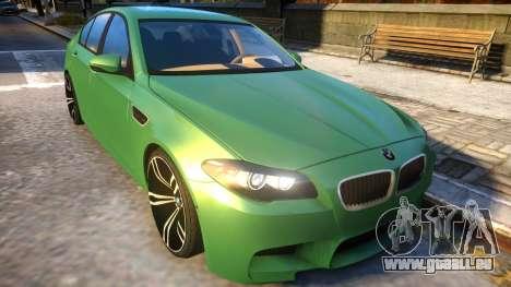 BMW M5-series F10 Azerbaijan style für GTA 4 Innenansicht