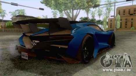 GTA 5 - Overflod Tyrant pour GTA San Andreas laissé vue