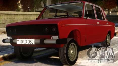 VAZ 2106 Wrangler Fara für GTA 4