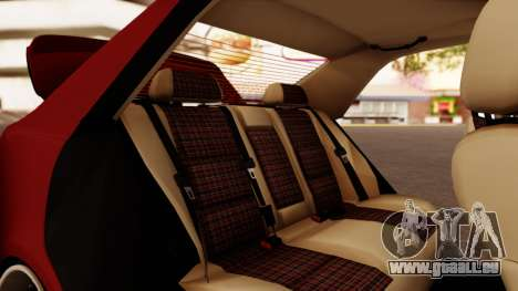 Toyota Altezza pour GTA San Andreas vue de dessus