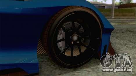 GTA 5 - Overflod Tyrant pour GTA San Andreas vue arrière