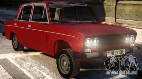 VAZ 2106 Wrangler Fara für GTA 4 Innenansicht