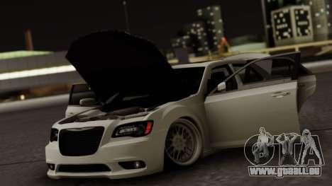 Chrysler 300C pour GTA San Andreas vue de dessous