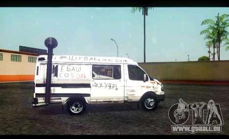 GAZ 22172 Sable BC pour GTA San Andreas