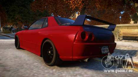 Annis Elegy Retro V1.1 für GTA 4 hinten links Ansicht