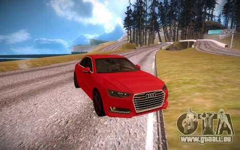 Audi S4 pour GTA San Andreas