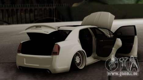 Chrysler 300C pour GTA San Andreas vue de dessus